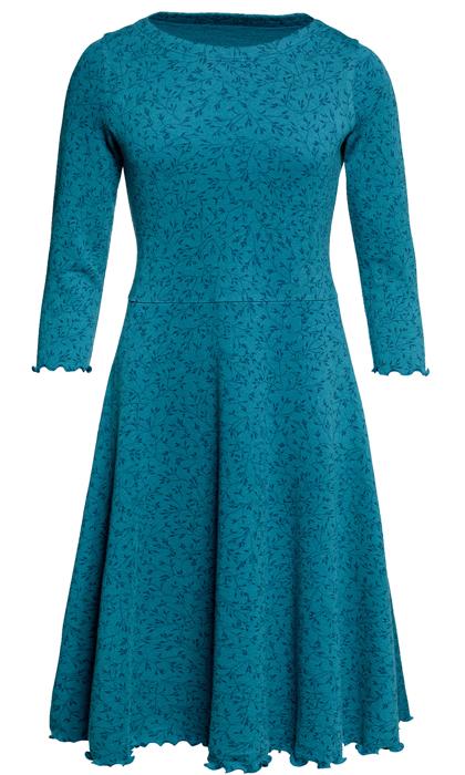 Ullklänning Karin Gräs kolonialblå