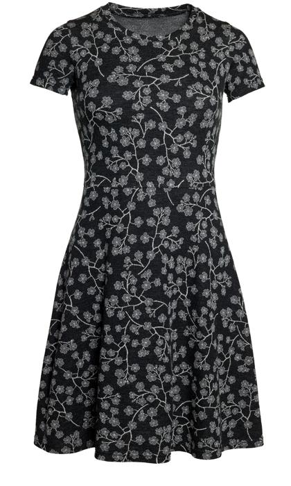 Ullklänning Karina Blomqvist svartgrå