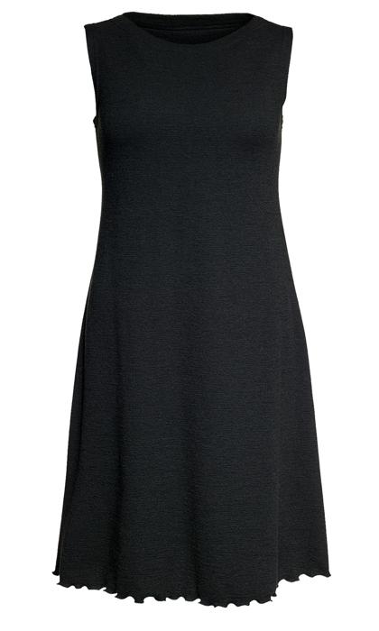 Ullklänning Lilly uni svart