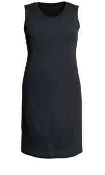 Ullklänning Liliane uni svart