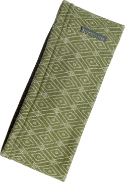 Pannband Romb grön