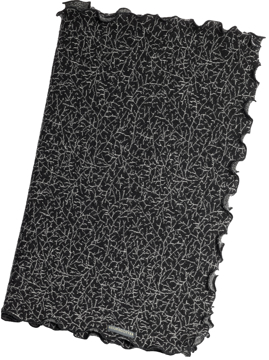 Ullhalsduk Lilla Bonn svartvit