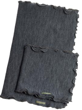Ullhalsduk Melange jeans