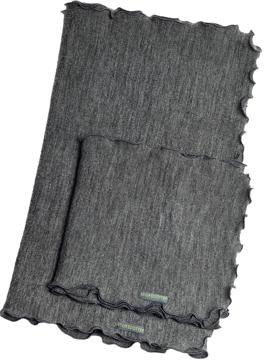 Ullhalsduk Melange grå