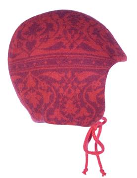 Barnmössa 6-12 mån Parissa röd
