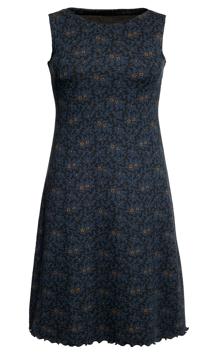 Ullklänning Lilly Odetta svartblå
