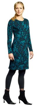 Ullklänning Annika Fleuri kolonialblå