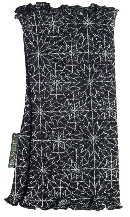 Handledsvärmare Hexagon svartvit