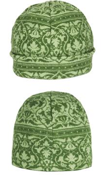 Mössa i filtad ull – Parissa grön