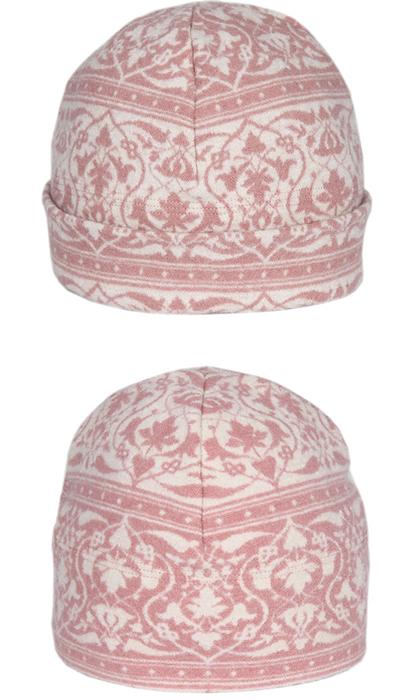 Mössa i filtad ull – Parissa rosa