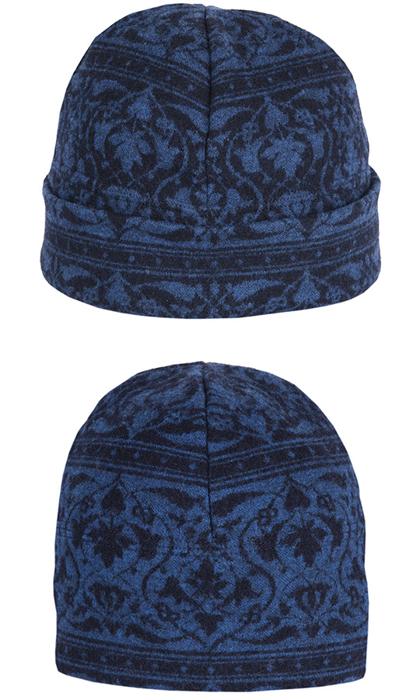 Mössa i filtad ull – Parissa blå