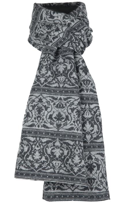 Halsduk i filtad ull – Parissa grå