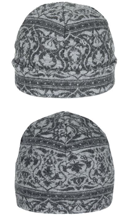 Mössa i filtad ull – Parissa grå