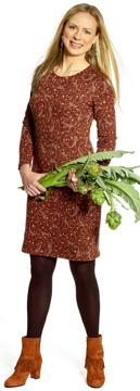 Ullklänning Annika Isfahan konjak