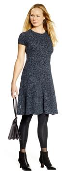 Ullklänning Karina Vinca svartblå