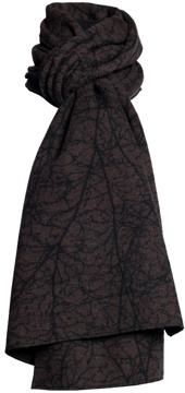 Halsduk i filtad ull – Amellanch brun